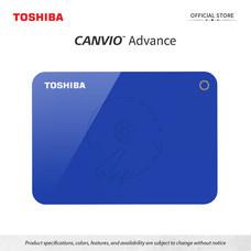 Toshiba External Harddrive (1TB) รุ่น Canvio V9 External HDD 1TB Blue USB 3.0