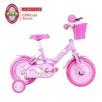 "LA Bicycle จักรยานเด็ก HELLO KITTY 12"" PINK ICE CREAM"