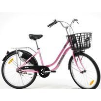 LA Bicycle จักรยานแม่บ้าน รุ่น Zone-A 24 นิ้ว เฟรมอัลลอยด์ ล้ออัลลอยด์