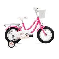 """LA Bicycle จักรยานเด็ก รุ่น FLORA 12"""" PINK"""
