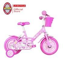 "LA Bicycle จักรยานเด็ก HELLO KITTY 12"" PINK CAKE"