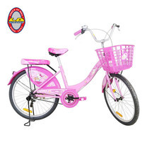LA Bicycle จักรยานรุ่น HELLO KITTY 24 นิ้ว SNACK TIME