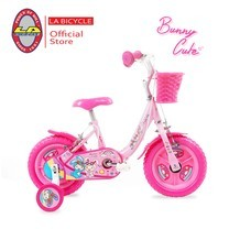 "LA Bicycle จักรยานเด็ก รุ่น BUNNY CUTE 12"""