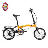 "LA Bicycle จักรยานพับ รุ่น NEO STAGE 203 3 SPEED 16"""
