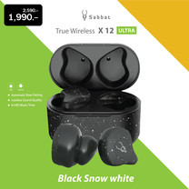 Sabbat X12 Ultra Marble Series TWS หูฟังบลูทูธไร้สาย / X12 Ultra Earphone Stereo HiFi Qualcomm Bluetooth 5.0 True Wirele