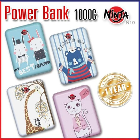 Easy and Perfect Power Bank 10,000 mAh N10