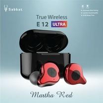 หูฟัง True Wireless Sabbat E12 Ultra - Martha Red (รับประกันสินค้า 1 ปี 6 เดือน)