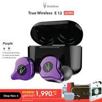 หูฟัง True Wireless Sabbat E12Ultra purple รับประกันสินค้า 1 ปี 6 เดือน
