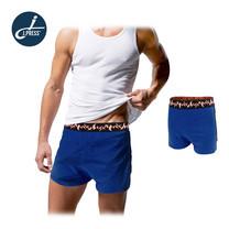 J.Press กางเกงลำลองขาสั้นผู้ชาย รุ่น 8225 จำนวน 1 ตัว/แพ็ค - สีน้ำเงิน
