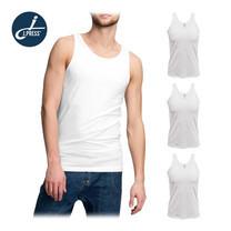 J Press เสื้อกล้ามชาย No. T444W 3ตัว/เซ็ต - สีขาว