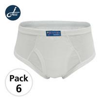 J Press กางเกงชั้นในเด็กชาย เจเพรส No.1453W 6ตัว/เซ็ต - สีขาว