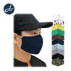 J.Mask 3D หน้ากากผ้าคละลาย จำนวน 10 ชิ้น/แพ็ก Mask3D-19 - Free Size