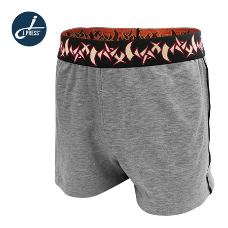 J.Press กางเกงลำลองขาสั้นผู้ชาย รุ่น 8225 จำนวน 1 ตัว/แพ็ค - สีเทา
