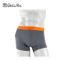 Valentino Rudy กางเกง BOXER รุ่น VI2-N211 15 - สีเทาขอบยางทอสีส้ม (1 ตัว)