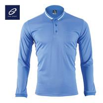 EGO SPORT EG6153 เสื้อโปโลแขนยาว สีฟ้า