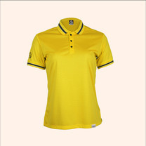 EGO SPORT EG6164 เสื้อโปโลแขนสั้นหญิง สีเหลืองจัน