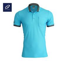 EGO SPORT EG6147 เสื้อโปโลแขนสั้นชาย สีฟ้า (เทอร์ควอยซ์)