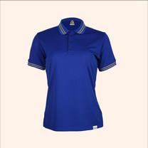 EGO SPORT EG6164 เสื้อโปโลแขนสั้นหญิง สีน้ำเงิน