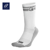 EGO SPORT EG301 ถุงเท้าลำลอง ยาวครึ่งแข้ง สีขาว