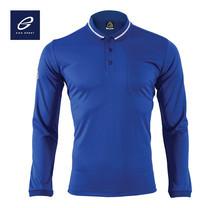 EGO SPORT EG6153 เสื้อโปโลแขนยาว สีน้ำเงิน