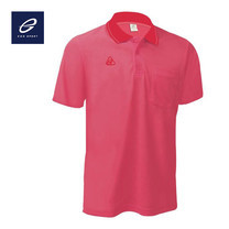 EGO SPORT EG6079 เสื้อโปโลชาย สีชมพูกลีบบัว
