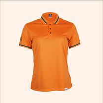 EGO SPORT EG6164 เสื้อโปโลแขนสั้นหญิง สีส้มแสด