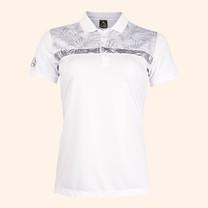 EGO SPORT EG6172 เสื้อโปโลหญิงแขนสั้น สีขาว