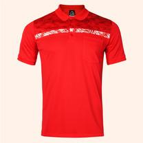 EGO SPORT EG6171 เสื้อโปโลชายแขนสั้น สีแดง