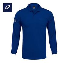 EGO SPORT EG6137 เสื้อโปโลชายแขนยาว สีน้ำเงิน