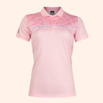 EGO SPORT EG6172 เสื้อโปโลชายแขนสั้นหญิง สีชมพูแคนดี้