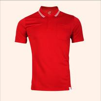 EGO SPORT EG6167 เสื้อโปโลชายเบสิคแขนสั้น สีแดง