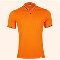 EGO SPORT EG6163 เสื้อโปโลแขนสั้นชาย สีส้มแสด