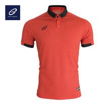 EGO PRIME PM212: เสื้อโปโลแขนสั้น ไหล่สโลป สีแดง