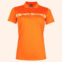 EGO SPORT EG6172 เสื้อโปโลหญิงแขนสั้น สีส้มแสด