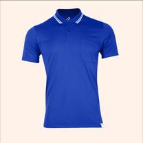 EGO SPORT EG6167 เสื้อโปโลชายเบสิคแขนสั้น สีน้ำเงิน