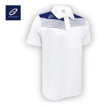 EGO SPORT EG6107 เสื้อโปโลชาย สีขาว/กรม
