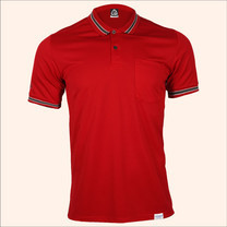 EGO SPORT EG6163 เสื้อโปโลแขนสั้นชาย สีแดงแทงโก้