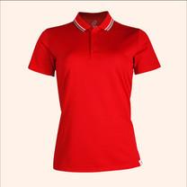 EGO SPORT EG6168 เสื้อโปโลหญิงเบสิคแขนสั้น สีแดง