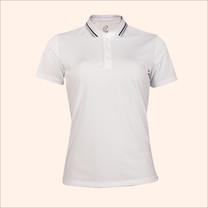 EGO SPORT EG6168 เสื้อโปโลหญิงเบสิคแขนสั้น สีขาว