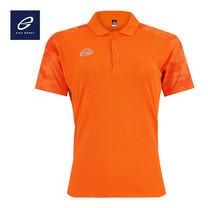 EGO SPORT EG6158 เสื้อโปโลพิมพ์ลายแขนสั้นหญิง สีส้ม