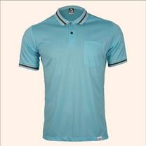 EGO SPORT EG6163 เสื้อโปโลแขนสั้นชาย สีฟ้าแคริบเบี้ยน