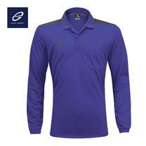 EGO SPORT EG6127 เสื้อโปโลชายแขนยาว สีม่วง