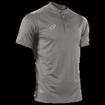 EGO PRIME PM214 : เสื้อโปโลแขนสั้น คอตั้ง สีเทาดัสดี้ โอลีฟ
