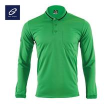 EGO SPORT EG6153 เสื้อโปโลแขนยาว สีเขียวไมโล