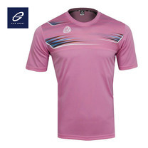 EGO SPORT EG5112 KIDS เสื้อฟุตบอลคอกลมเด็ก สีชมพู
