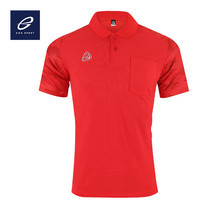 EGO SPORT EG6157 เสื้อโปโลพิมพ์ลายแขนสั้นชาย สีแดง