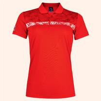 EGO SPORT EG6172 เสื้อโปโลหญิงแขนสั้น สีแดง