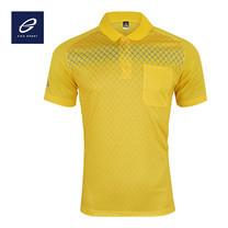 EGO SPORT EG6159 เสื้อโปโลพิมพ์ลายแขนสั้นชาย สีเหลืองจัน