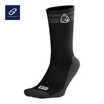 EGO SPORT EG301 ถุงเท้าลำลอง ยาวครึ่งแข้ง สีดำ