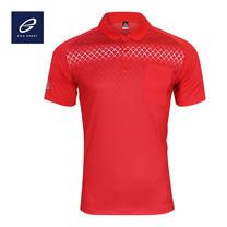EGO SPORT EG6159 เสื้อโปโลพิมพ์ลายแขนสั้นชาย สีแดง